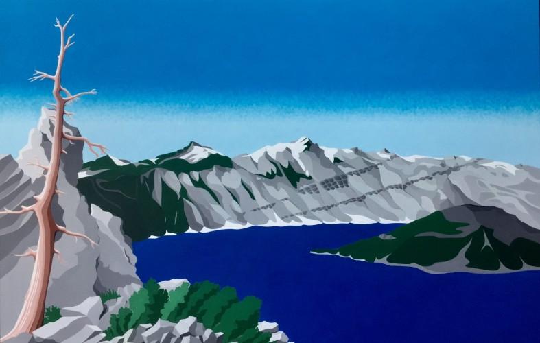 Overige schilderijen: Crater Lake, Oregon U.S.