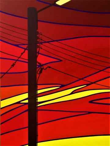 Bonaire schilderij: Pasa un bon nochi (3)