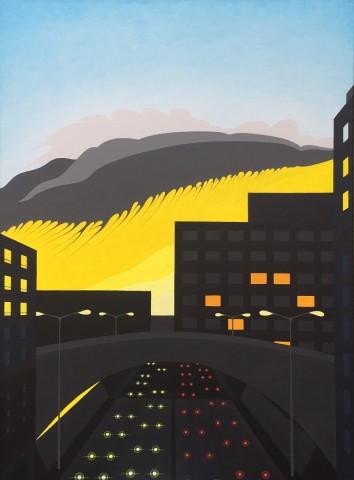 Nederland schilderij: Aurora Lugdunum