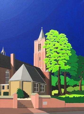 Nederlands landschap schilderij: Oud Soest
