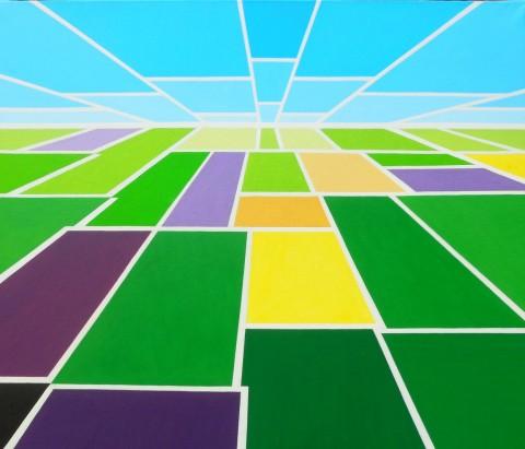 Nederland schilderij: Stadia
