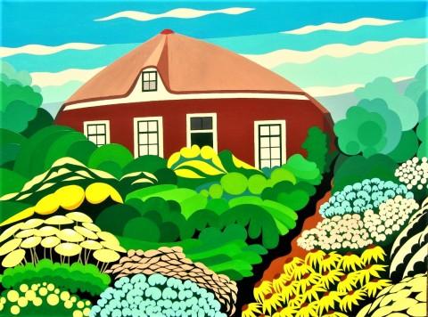 Nederlands landschap schilderij: Dwingelderveld 12
