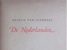 'De Nederlanden' (3) omslag van deze laatste publicatie van Arthur van Schendel