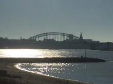 Ooijpolder (3) gezicht op Nijmegen