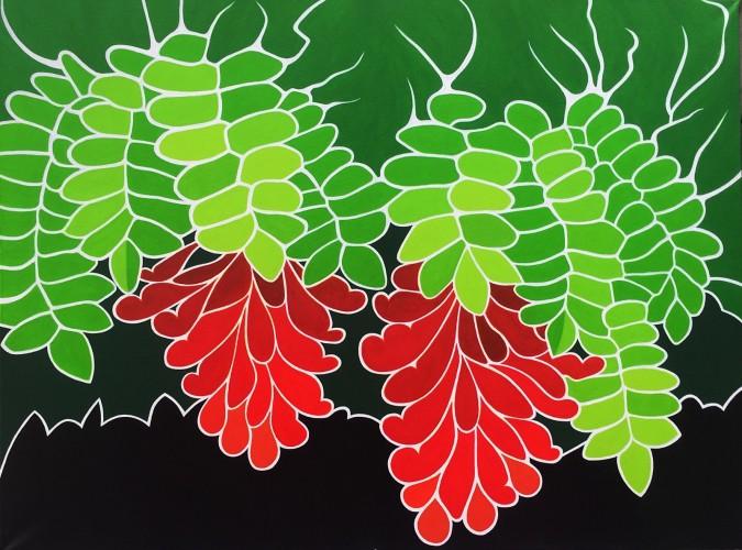 Bonaire schilderij: Vruchtbaarheid