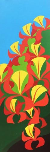 Bonaire schilderij: Flamboyan