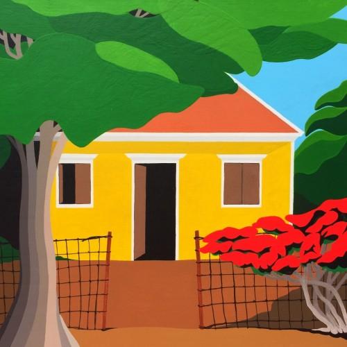 Bonaire schilderij: Nikiboko