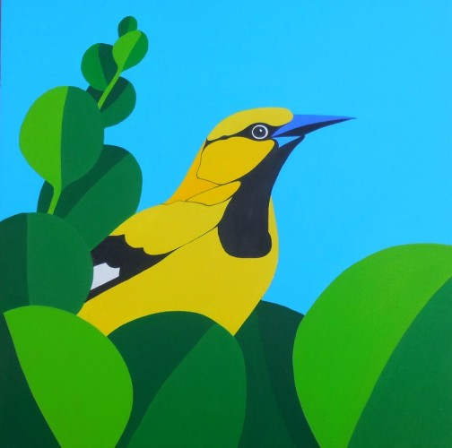 Boanire schilderij: Trupial kacho 2