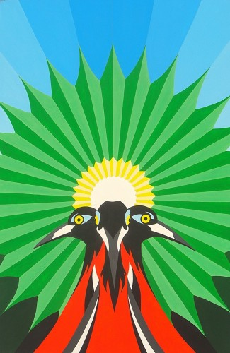 Bonaire schilderij: Morgenstond