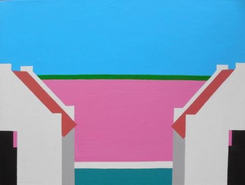 Bonaire schilderij: Zuidpunt (3)