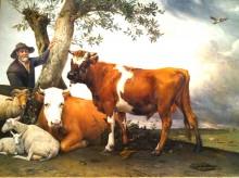 Winterkoeien (1) de 'stier van Potter', Paulus Potter